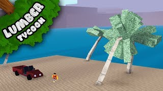 HOW TO GET PALM WOOD in Lumber Tycoon 2!!! | Roblox