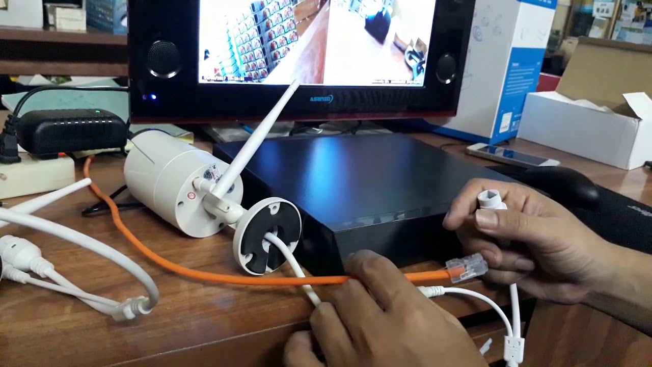 Hướng dẫn cấu hình camera bộ wifi kit nvr smart box thịnh