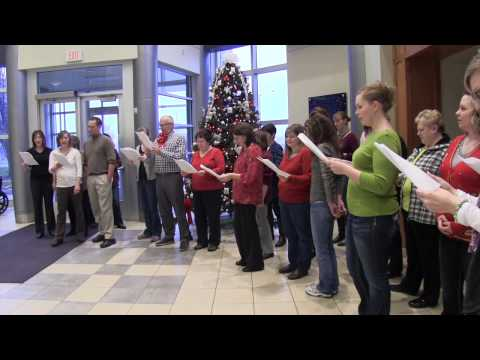 Wyoming-Holiday Flash Mob Caroling