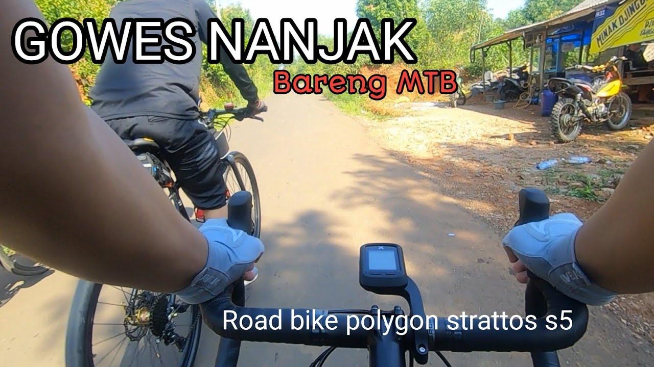 Road bike salah gaul T.T    gowes bareng goweser MTB    jonggol