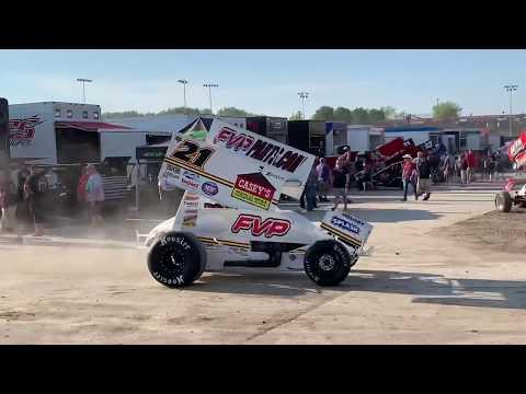 World of Outlaws Engine Heat at Eldora Speedway