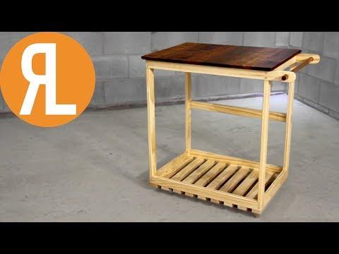 Simple DIY BBQ Cart | Woodworking