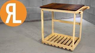 Simple DIY BBQ Cart   Woodworking
