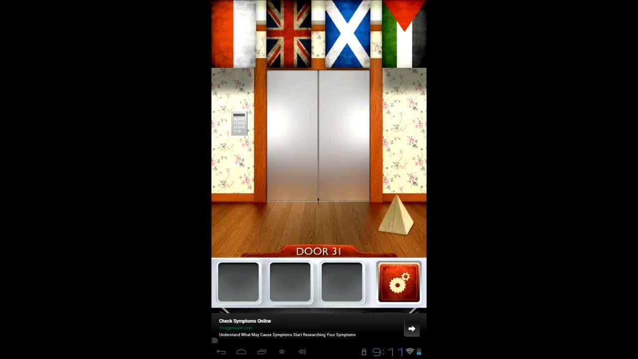 Find the doors level 10 100 doors 2 level 31 walkthrough for Door 90 on 100 doors incredible
