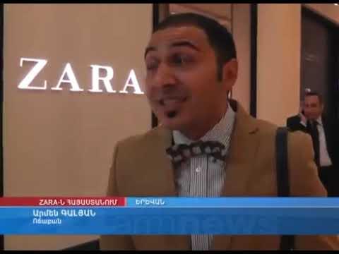 1st Zara Store Opening In Dalma Garden Mall, Yerevan, Armenia