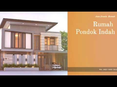 Jasa Desain Rumah Pondok Indah Jakarta Selatan Wa 0812 8634 9099 Youtube