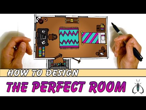 How to Design Your Room Floor Plan Step by Step | Animated Art Lesson for Kids