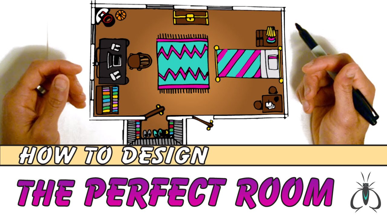 How to design your room floor plan step by step animated art youtube premium malvernweather Gallery