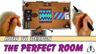How to Design a Room Floor Plan - Blueprint Art Lesson