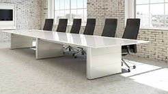 Modern White Boardroom Table Furniture