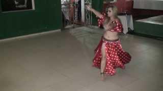 Dança do Ventre-Karla Falak - Noite no Oriente IV 2013 - Issam Houshan - Tabel Ya Issam