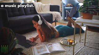 listening to lofi in my living room ♫