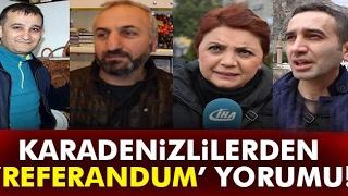 Karadeniz'den Referandum Yorumu