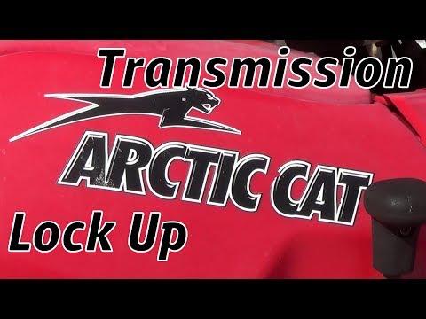 Arctic Cat Transmission Lock UP