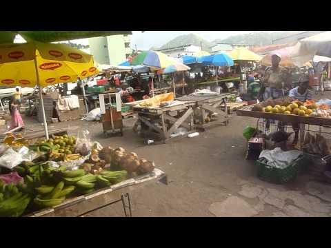 Castries market, Saint Lucia