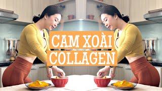 Eat Clean #12 | Sinh tố collagen và xoài sấy collagen cho da đẹp dáng xinh ♡ Hana Giang Anh