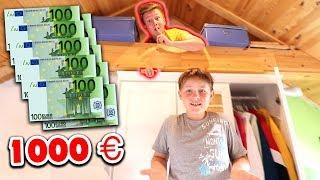Ich VERSTECKE mich im GANZEN HAUS 😰**1000€ für Gewinner** 😳