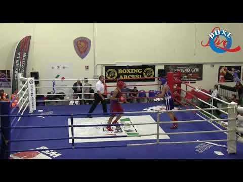 Vitale Nicolò vs Spinetti Alessio Finali 66 kg Junior