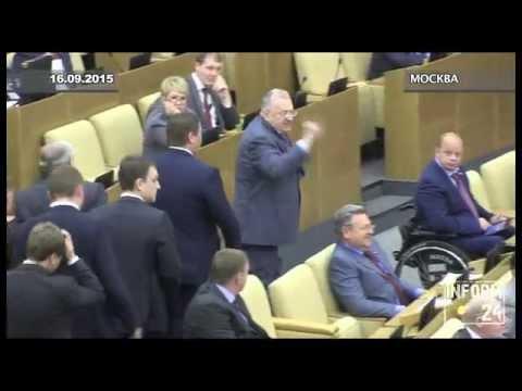 Смотреть Жириновский оскорбил Ирину Роднину и устроил скандал в Госдуме (ПОЛНАЯ ВЕРСИЯ) онлайн