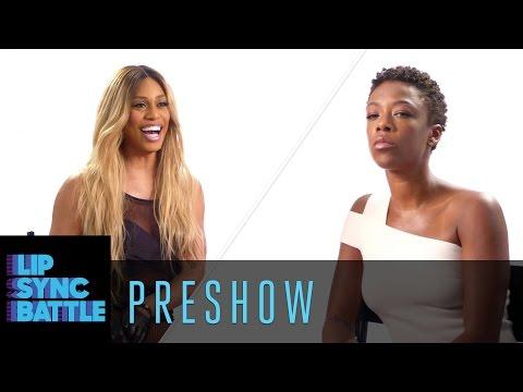 Pre: Laverne Cox vs. Samira Wiley  Lip Sync Battle