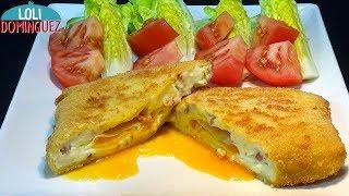 Huevos al Cielo con jamón, una delicia para el paladar - Recetas paso a paso - Loli Domínguez