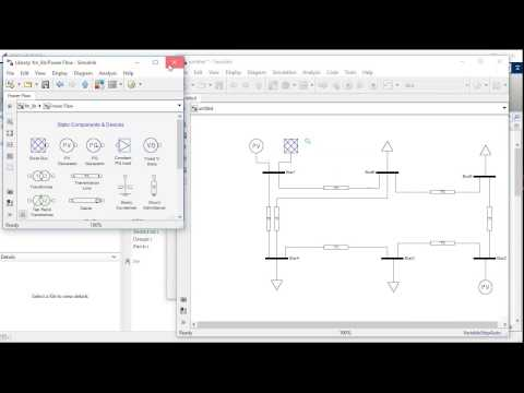 Power Flow Analysis using PSAT
