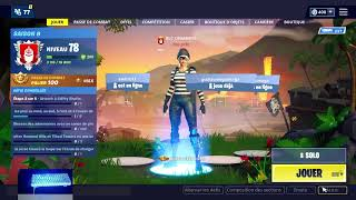 [Live fortnite EN] DE RETOUR CHEZ MOI (CODE CREATEUR: YOUTUBE-LBGAMING)