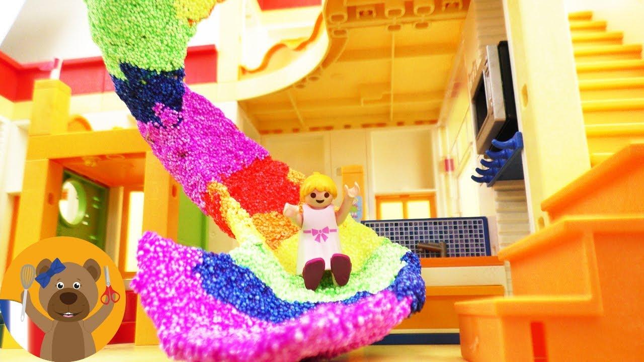 Diy toboggan playmobil super toboggan pour votre maison playmobil construire soi m me id e - Construire une maison playmobil ...