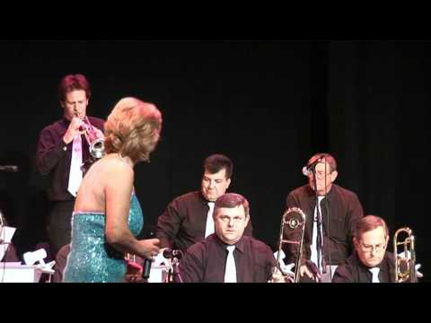 George Thorby, Claire Colton and barry on trumpet solo -angels sing.mpg