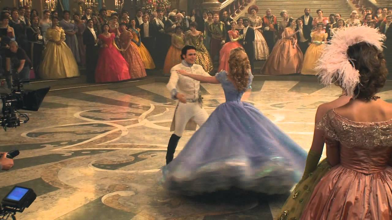 behind the scene cenicienta cinderella