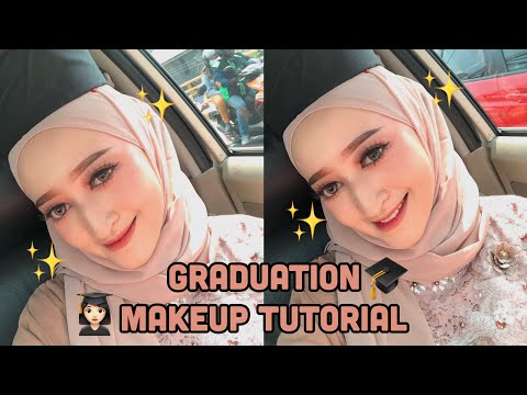 GRADUATION MAKEUP TUTORIAL! Super Simple & Tahan Lama (Indonesia) | Seviq Febinita - YouTube