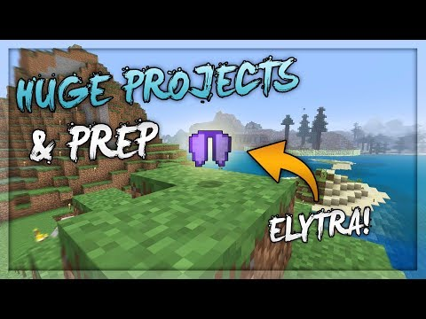 Big Projects & Plans | Minecraft Survival World | Chilled Stream