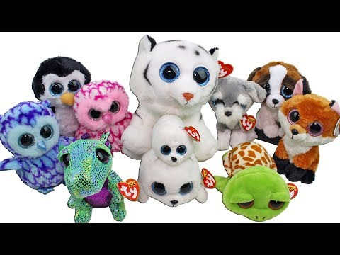 f729650864b Huge Beanie Boo Haul from Joann Fabric Unboxing Toy Review TY Beanie Boo s  Plush
