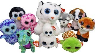 Huge Beanie Boo Haul from Joann Fabric Unboxing Toy Review TY Beanie Boo's Plush