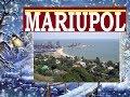 Best beach in Ukraine Mariupol city in winter 2018 -  Sea of Azov