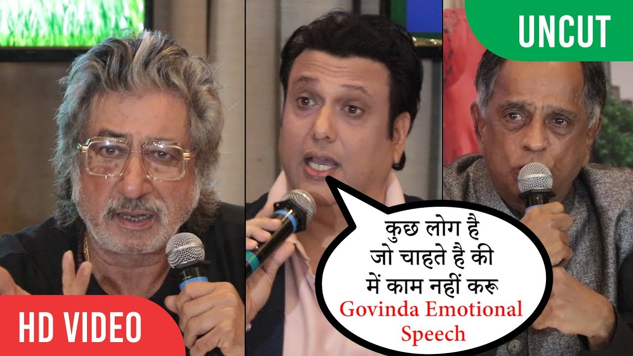 Download Censor Board's Cuts for Rangeela Raja | Govinda, Shakti Kapoor, Pahlaj Nihalani | Press Conference