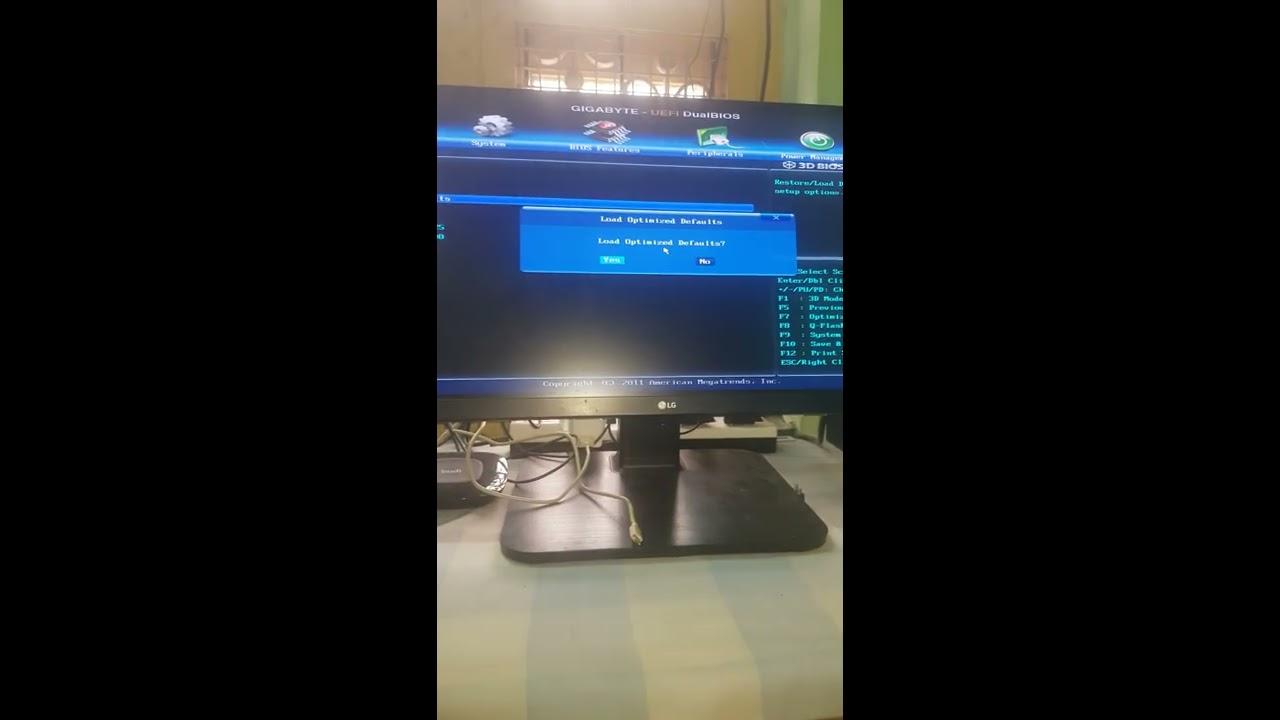 No boot motherboard problem fix (gigabyte) READ DESCRIPTION