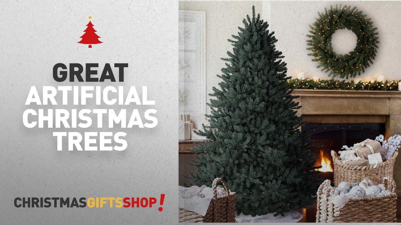 d75e1f6ba97d Realistic Artificial Christmas Trees  Balsam Hill Classic Blue Spruce ...