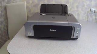 Как снять и потом установить печатающую головку принтера Canon Pixma IP4200