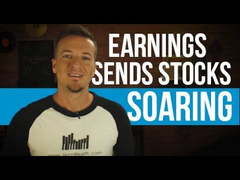 Stock market rally continues thanks to good earnings.