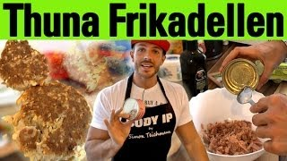 Thunfisch Frikadellen - perfektes Eiweiß-Rezept für anabole Diät (ketogene Diät)