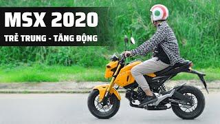 Trên tay: Honda MSX 2020   Trẻ trung và cá tính