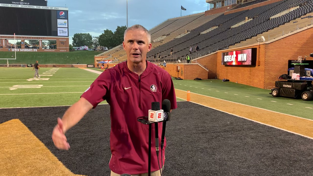 FSU is 0-3 for the first time since 1976 after a 35-14 loss to Wake ...