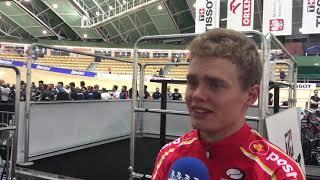 Niklas Larsen forud for VM i Omnium 2019