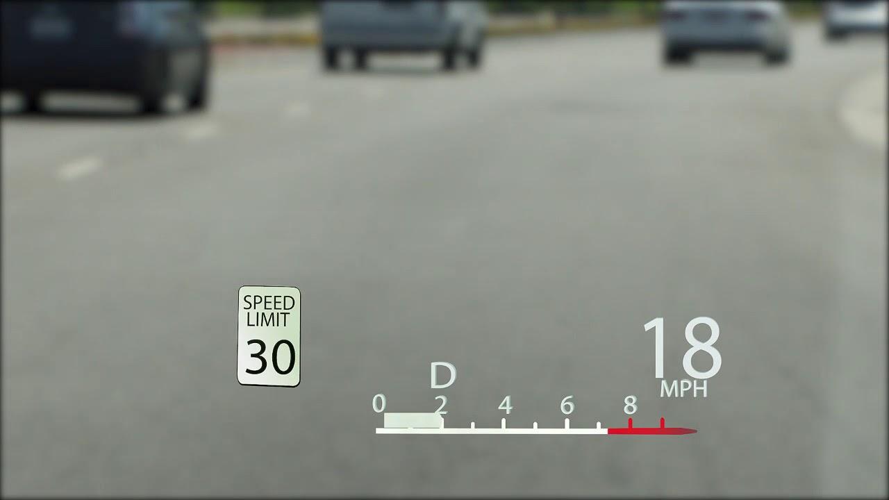 Head Up Display Lexus Drivers