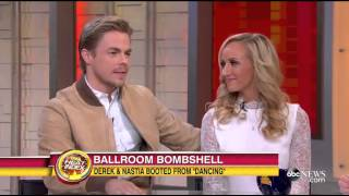 Nastia Liukin and Derek Hough on Their Unexpected Elimination From 'DWTS' 4:59