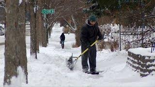 Keeping Sidewalks Free Of Snow In Robbinsdale