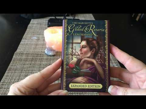Lenormand Gilded Reverie, Expanded: Deck Flip-Through Review + BONUS READING