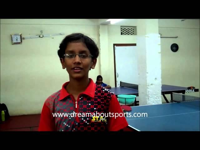 Rising Stars - Akula Sreeja new face in Table Tennis