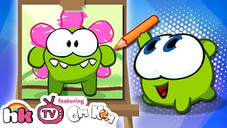 Best of Om Nom Stories: 📚 Back to School   Cut the Rope   Funny Cartoons for Kids   HooplaKidz TV